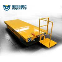 帕菲特厂家定制电动平台升降车轨道电动平板车转弯式轨道车