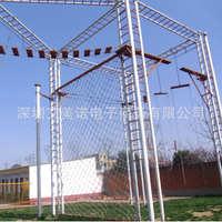 大型户外高空拓展多面体拓展器械高空组合器械高空攀爬设备