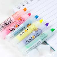 晨光文具荧光笔米菲FHM22501六色套装彩色荧光笔醒目笔标记笔批发