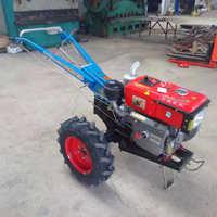 电启动手扶拖拉机运输管理机旋耕开沟杀秧收获播种施肥覆膜机
