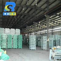 厂家现货重型金属货架周转箱仓储笼带轮仓储笼量大价优可定制
