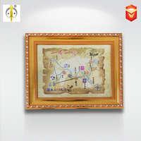 海上丝绸之路一带一路纪念相框钱币相框外国硬币收藏有钱花同款框