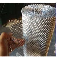 挡杂物菱形铝板网铝板拉伸菱形网冲孔板装饰网