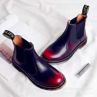 Dr2976切尔西爆款真皮马丁靴男子大码外贸情侣鞋带Dr鞋盒加绒女鞋