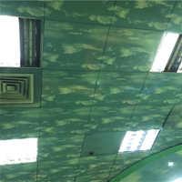 防火 L型 铝扣板丝印吊顶彩绘