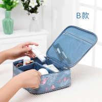 旅行化妆包便携收纳包手提小号淑女迷你化妆箱品袋洗漱包