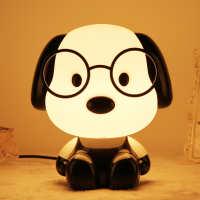 超大小狗动物卡通台灯暖光护眼灯儿童卧室床头灯婴儿喂奶灯读书灯