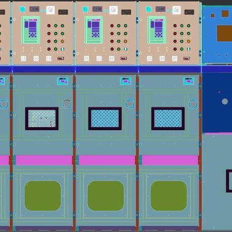 35KV(GIS)断路器充气开关柜充气柜35KV高压环网柜