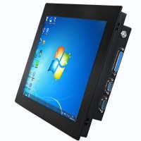 工业一体机工控电脑电阻电容安卓触控嵌入式平板电脑无触摸