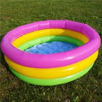 现货批发PVC充气游泳池儿童泳池圆形泳池海洋球池子儿童戏水池