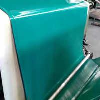 定制黑绿色双面橡胶板绿色工作台垫桌布静电地垫橡胶板胶皮现货