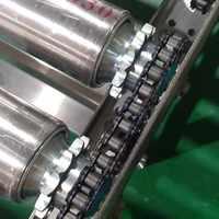 自动化设备输送线/工装板装配线皮带滚筒线不锈钢滚筒线