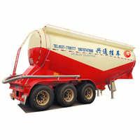 轻型35立方散装水泥罐自重6.3吨轻量化设计罐体3mm厚高强钢板