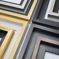 数字油画装裱L框条穿衣镜外框边条证书框饰条室内装饰电表箱线条