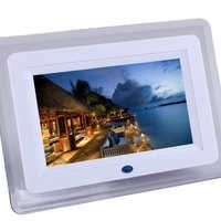 工厂直销全新7寸数码相框/7寸亚克力带灯多功能数码相框/电子相册