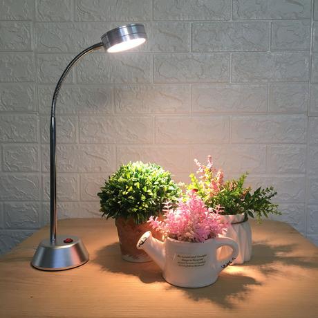 植物生长补光台灯全光谱多肉室内花卉种植专用台式led桌面太阳灯