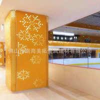 AA级铝合金 KMS 铝单板包柱木纹柱圆柱