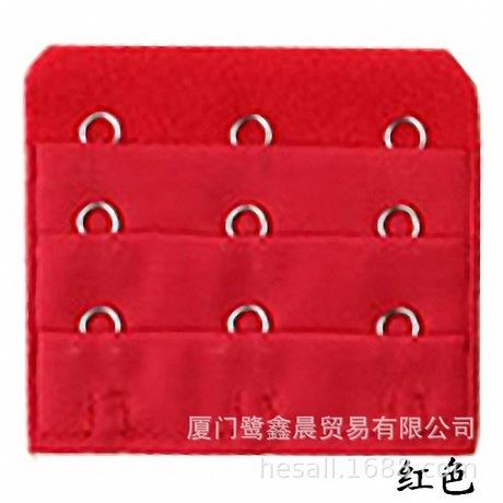 批发厂家直销宽5.5三排三扣不锈钢加长扣内衣延长扣间隙1.9