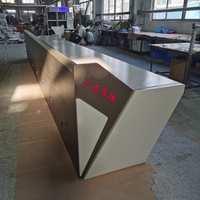 深圳豪华调度台设备控制柜四联操作台嵌入式操作台监控中心操作台