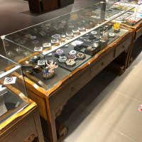 实木复合 玻璃展柜04 展柜展示架展示台木质