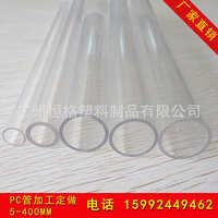 厂家供应耐压PC穿线管PC透明管拉纹少PC32管子