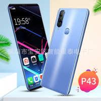 新款跨境智能手机P435.8寸incell大屏国产智能手机wish低价手机