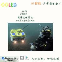 高清拍照摄像水下无人机探测器侦察机4K摄像潜水搜救水下机器人