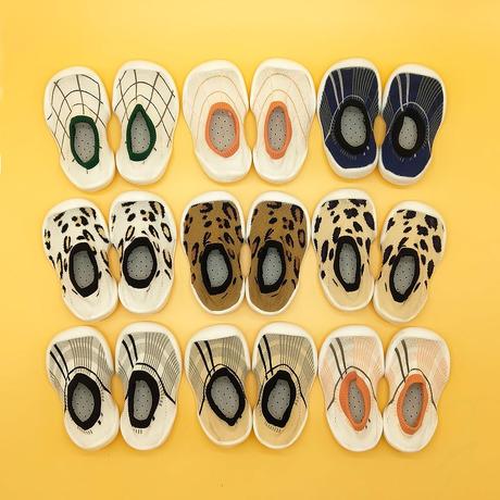卡通儿童学步鞋婴儿鞋袜软底防滑中筒地板鞋防掉家居鞋点胶地板袜