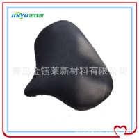 青岛金钰莱厂家定做PU坐垫聚氨酯自结皮海绵PU发泡头枕座椅制品