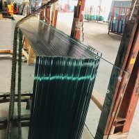 工厂直销优质低价4mm厚钢化玻璃定做10mm耐高温钢化夹胶玻璃