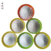 厂家直销白石英砂水处理石英砂滤料喷砂人造草坪0.5-32mm