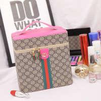 2020厂家批发化妆包旅行大容量化妆箱PU皮定型收纳包防水洗漱包