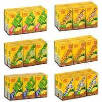 香港进口维他Vita柠檬茶多种口味柠檬茶饮品饮料250ml*6盒批发商