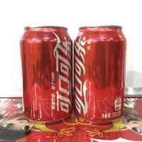 激光刻字专用可口可乐新包装新日期经典装330ml*24罐听纸箱装