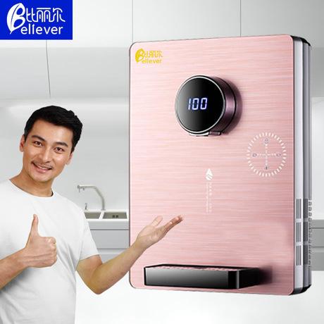 比丽尔速热管线机即热壁挂式调温管线玻璃触屏饮水机厂家直销礼品