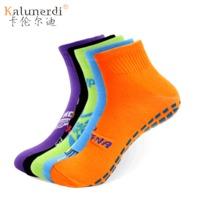 蹦床袜子乐园蹦床通用防滑点胶袜家居地板防滑袜子运动点胶袜