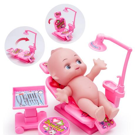 儿童小医生玩具套装女孩男孩仿真过家家扮演打针护士听诊器工具箱