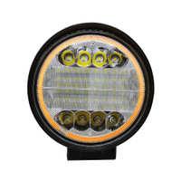 跨境专供圆形双色72W工作灯eBay亚马逊外贸热卖通用越野车灯