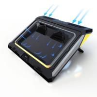 外星人Alienware游戏电脑散热双涡轮静音风扇笔记本散热器底座