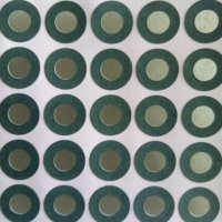定制单面背胶覆膜防火青稞纸垫片实心耐高温复合青壳纸垫圈胶垫