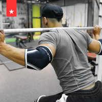 劳拉之星护手肘器械训练大力士健身护肘大重量举重深蹲卧推跨境