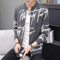 男士春秋针织外套外穿休闲毛衣韩版成熟男人拉链开衫上衣夹克批发