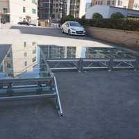 铝合金拼装舞台婚庆庆典活动舞台圆形铝合金舞台玻璃舞台