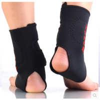 厂家批发自发热护脚踝保暖透气可调节篮球足球防扭伤运动护具