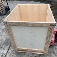 折叠式周转箱 XMY-01 周转箱木箱子实木货运木