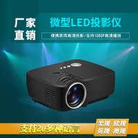 热销投影仪GP70迷你微型LED便携家用高清投影机支持1080P厂家直销