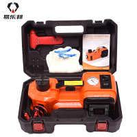 ZSYT02多功能电动液压千斤顶简装车载带灯汽车充气气压千斤顶