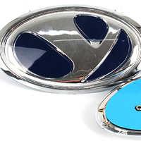 厂家定制亚克力丝印车标跃迪电动车前后标方向盘标ABS注塑标牌