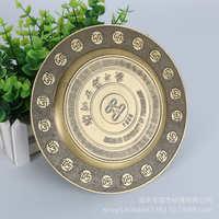 铜牌定制丝印电镀金属标牌制作LOGO铝牌铭牌拉丝腐蚀不锈钢