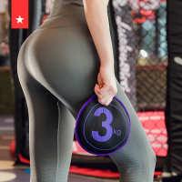 劳拉之星LS0619健身沙饼沙铃软式哑铃负重力量训练私教健身器械